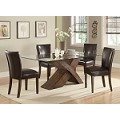 103051 Nessa X Base Dining Table & Parson Chairs
