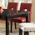 103612 Newbridge Dining Chair Red (set of 2)