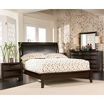 200410 Phoenix Contemporary Platform Bedroom Set