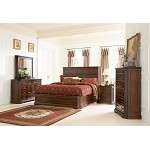 201581 Foxhill Platform Bedroom Set