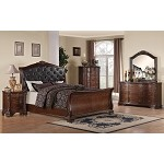 202261 Maddison Sleigh Bedroom Set