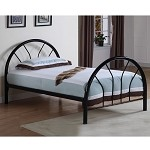 2389B Coaster Twin Bed - Black