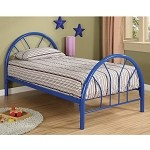 2389B Coaster Twin Bed - Blue