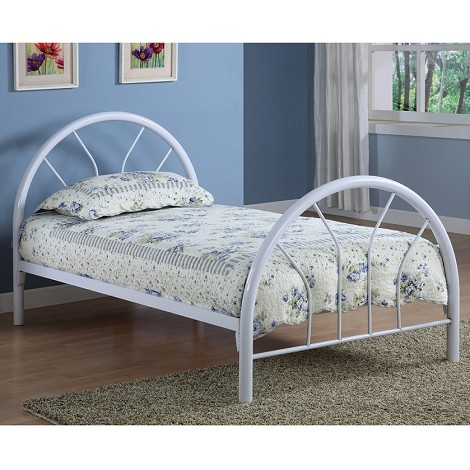 2389B Coaster Twin Bed - White