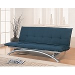 300008 Contemporary Metal Futon
