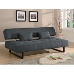 300137 Contemporary Armless Sofa Bed