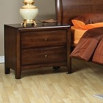 Phoenix Collection Nightstand Walnut Finish