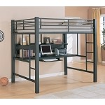 460023 Bunks Workstation Full Loft Bed