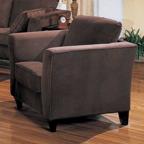 500233 Park Place Contemporary Chair Chocolate
