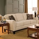 502471 Carver Sofa with Exposed Wood Base