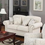 502512 Norah Antique Inspired Loveseat with Nail Head Trim