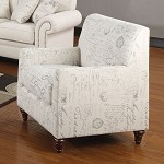 502513 Norah Antique Inspired Armchair