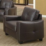 502733 Jasmine Leather Chair Brown