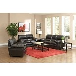 502951 Fenmore Casual Split Back Leather-Like Sofa Set