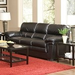 502951 Fenmore Casual Split Back Leather-Like Sofa