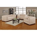 504391 Alexis Transitional Chesterfield Sofa set