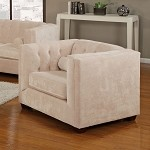 504393 Alexis Transitional Chesterfield Armchair
