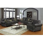 504401 Colton Traditional Grey Sofa set