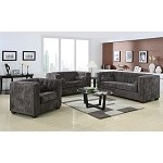 504491 Alexis Transitional Chesterfield Sofa set