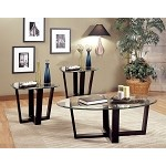 700275 Howard Contemporary 3 Piece Occasional Table Set