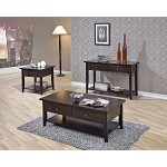 700967 Whitehall Accent table collection Cappuccino