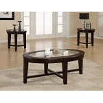 701511 Contemporary 3 Piece Occasional Table Set
