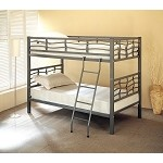 Bunks Twin Bunk Bed with Ladder