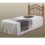 710Th Twin Honey Double Rail Headboard