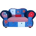 Fantasy Furniture Comfy Chair Blue Cars