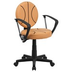 Basketball Task Chair With Arms [Bt-6178-Basket-A-Gg]