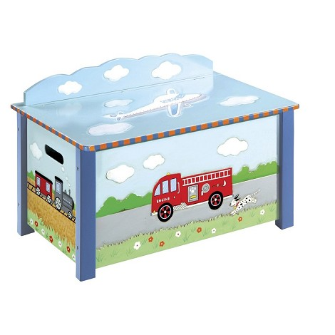 Transportation Toy Box