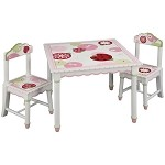 Lambs&Ivy Sweetiepie Table & Chairs