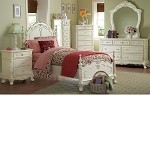 1386T Cinderella Bedroom Set