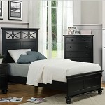 2119TB Sanibel Bed Black