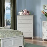 2119TW Sanibel Chest of Drawers White
