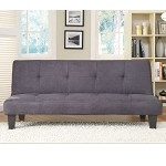 4806blk Albert Elegant Sofa Bed Black