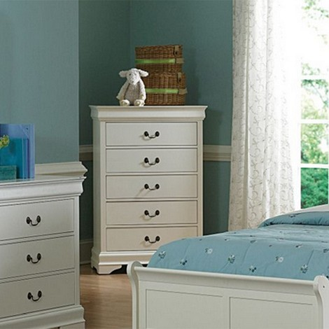 539TW Marianne Chest of Drawers White