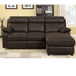 9609 Gaines Sectional with right chaise Brown