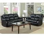 9700 Cranley Recliner Sofa Set Black