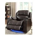 9745brwn Jimmy Recliner Brown