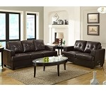 9747 Keaton Sofa Set Brown