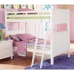 Pottery Bunk bed - White