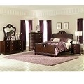 Lund Bedroom Set - Rich Cherry