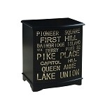 DS-517128 Accent Chest in Union-Black Finish