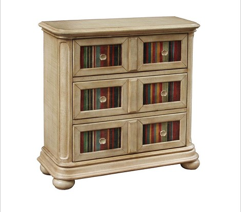 DS-517160 Hall Chest in Multi-Painted Finish