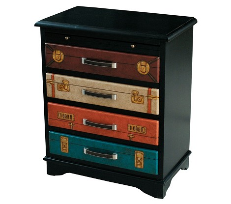 DS-597111 Accent Chest in Multi-Painted Finish