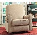 DS-911-006-168 Ashewick Swivel/Glider Recliner  in Crave Linen Finish