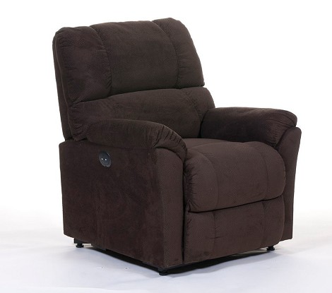 DS-95-001 Klana Lift Chair in Chocolate Finish