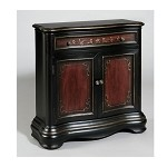 DS-969133 Hall Chest in Black/Painted Finish