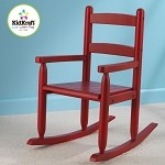 2-Slat Rocker - Cranberry - DISC